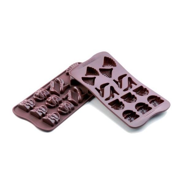 Chocolates silicone molds Choc Fashion Silikomart