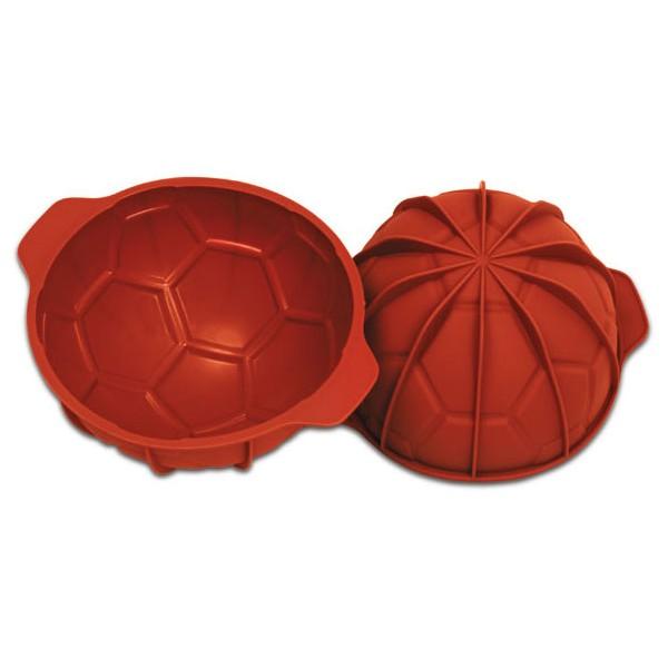 Moule silicone ballon de soccer Silikomart