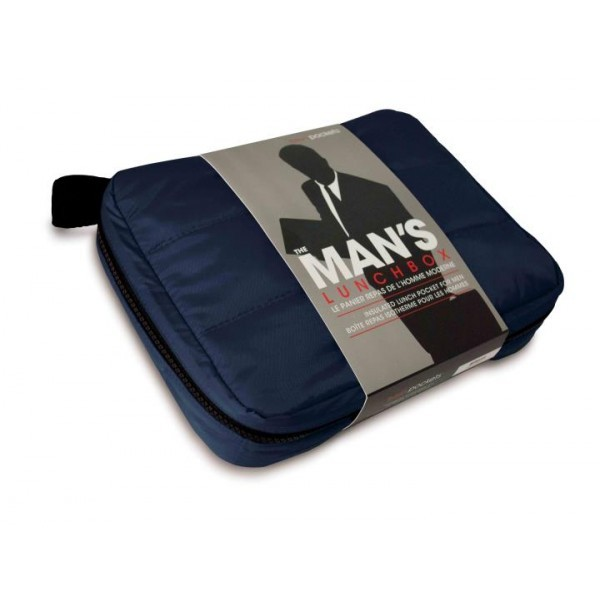 Pochette thermo bleu marine pour lunch freshpockets