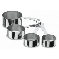 4 pcs. Measuring saucepans set (inox)
