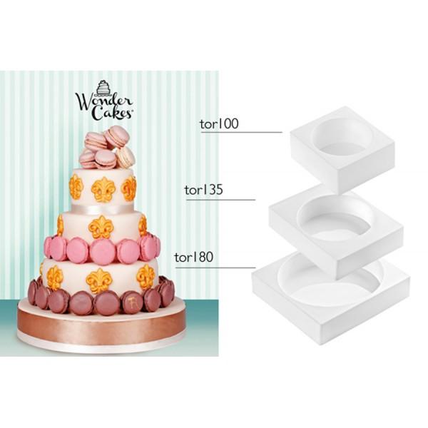 Moule My Wonder Cake Classic 3 pièces