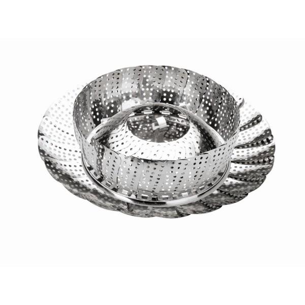 Hervidor extensible acero inoxidable 18-28 cm