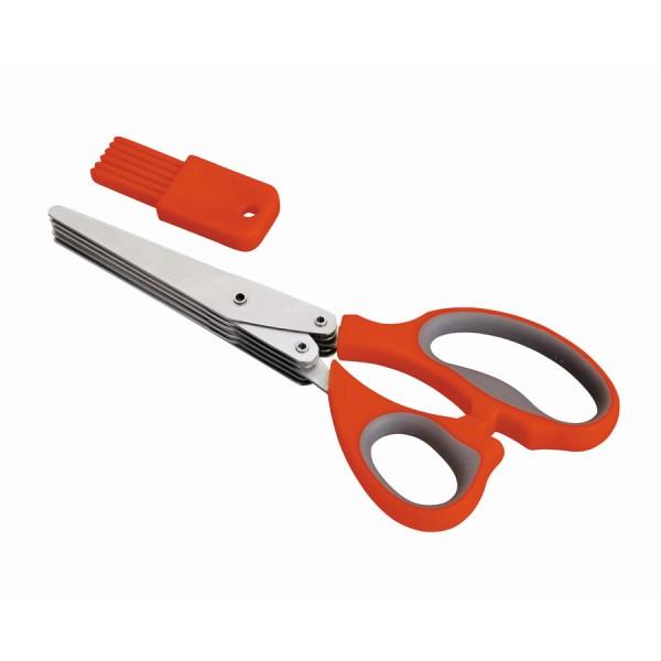 Ciseaux 5 coupe+ peigne pour nettoyage