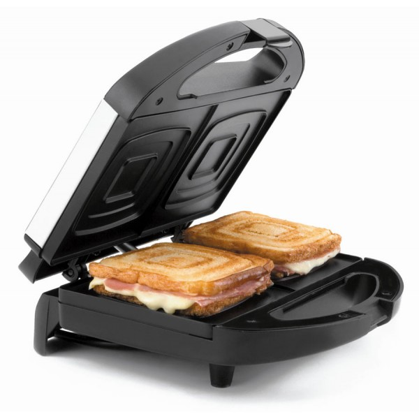 Sandwichera eléctrica rebanadas cuadradas