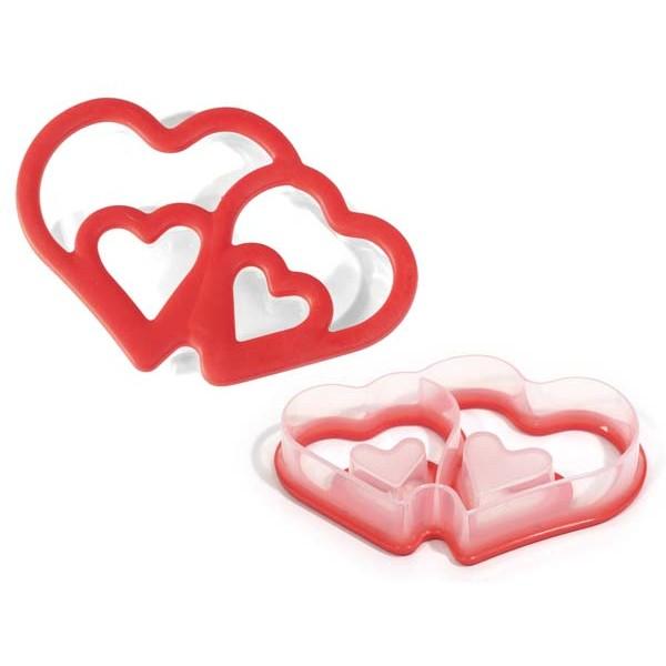 Emporte-pièces avec double coeur Silikomart