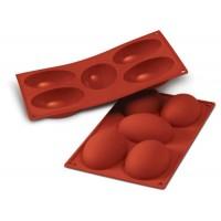 Stampo silicone uovo 10x7 cm Silikomart