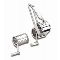 St steel cheese grater (2 blades)