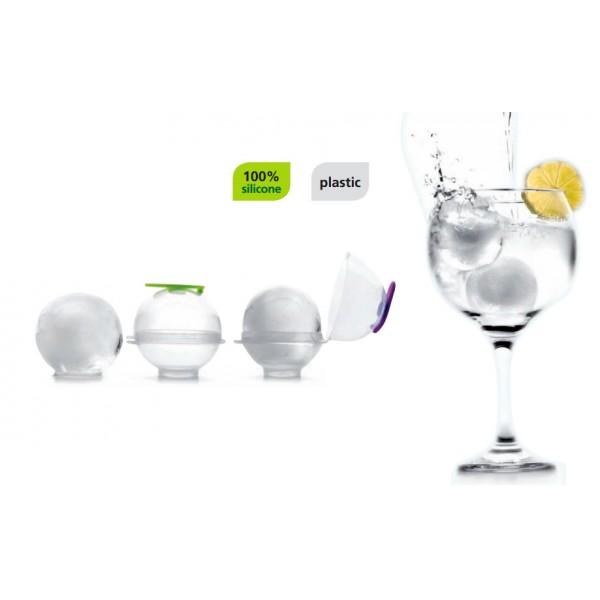 Gin tonic ice balls