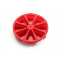 Tortiera in silicone divisa in 8 porzioni Lékué