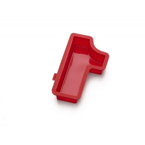 Stampo silicone per dolci a forma di numero 1 Lékué