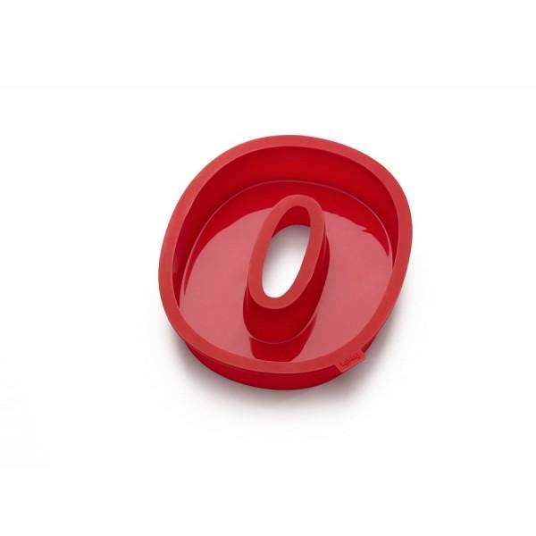 Stampo silicone per dolci a forma di numero 0 Lékué