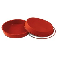 Round silicone mold for oven 24 cm Silikomart