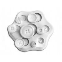 Sugarflex moule silicone bouton Silikomart