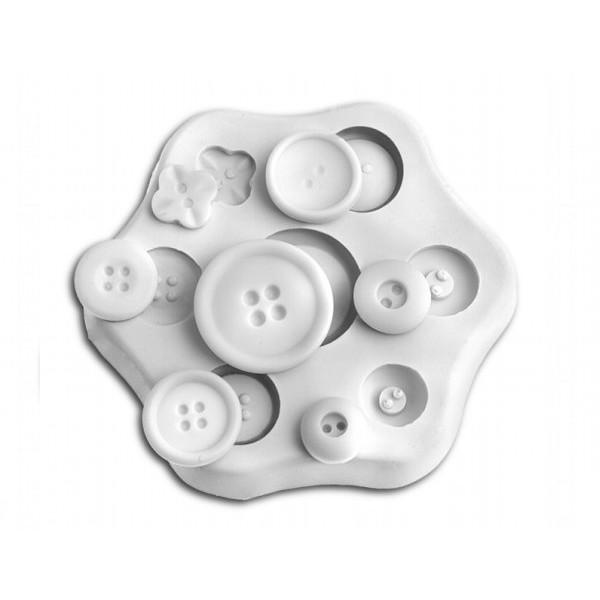 Sugarflex silicone mold button Silikomart