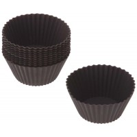 Black Lékué mold silicone cup cake 12 pieces