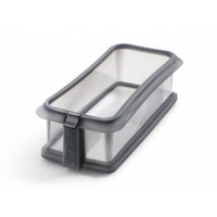 Removable rectangular mould with dish Lékué