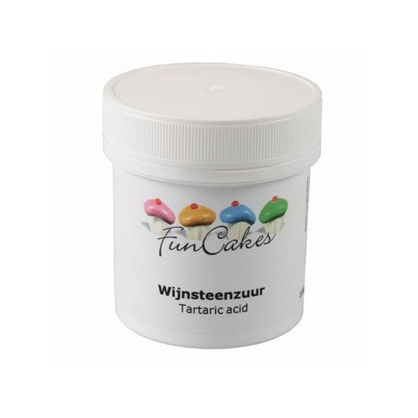Acido Tartarico Funcakes 100gr