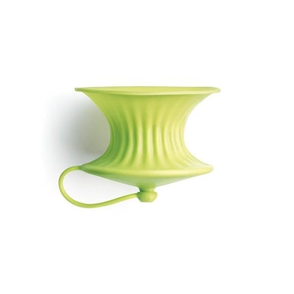 Lékué green lemon squeezer