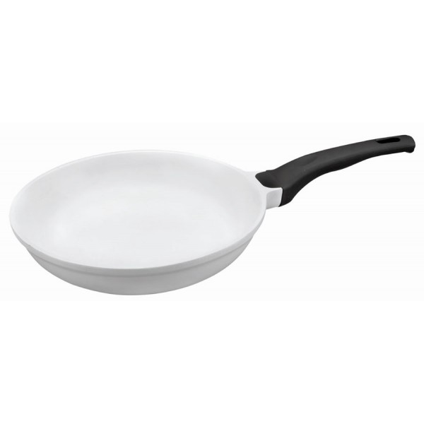 White ceramic pan (22 cm)