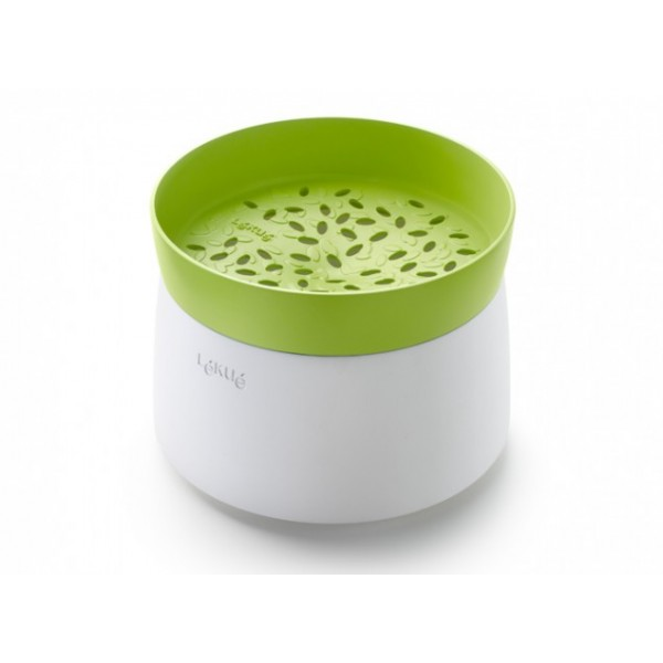 Rice and grain cooker microwaveable Lékué