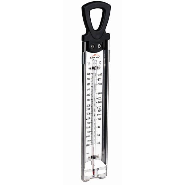 Huile le thermomètre analogique