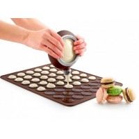 Lékué macarons tradizionale tappetino in silicone
