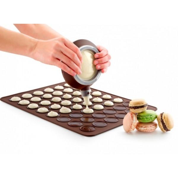 Lékué macarons traditionnelle tapis en silicone
