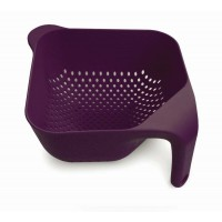 Square colander purple Joseph 20 cm