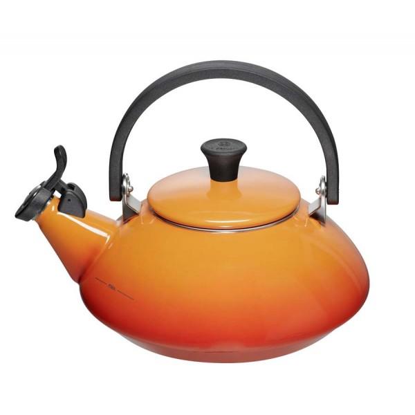 Tetera Zen naranja volcánica Le Creuset 1,5 l