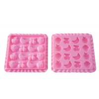 Stampo in silicone gelatine Tutti Frutti + libro ricettario Silikomart