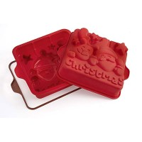 Stampo per il forno in silicone Jingle Bells Silikomart
