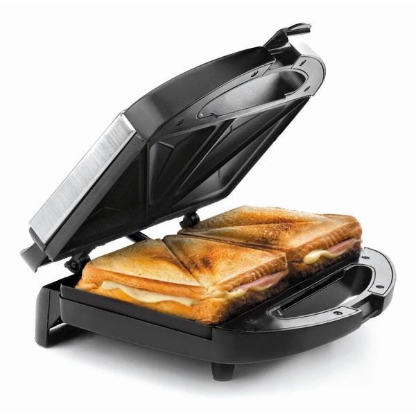 Appareil à sandwichs électrique tranches triangulaire