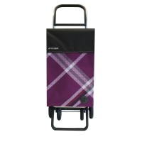 Shopping Trolley Cart Classic Bora 4.2 Antracita Purple 4 wheel