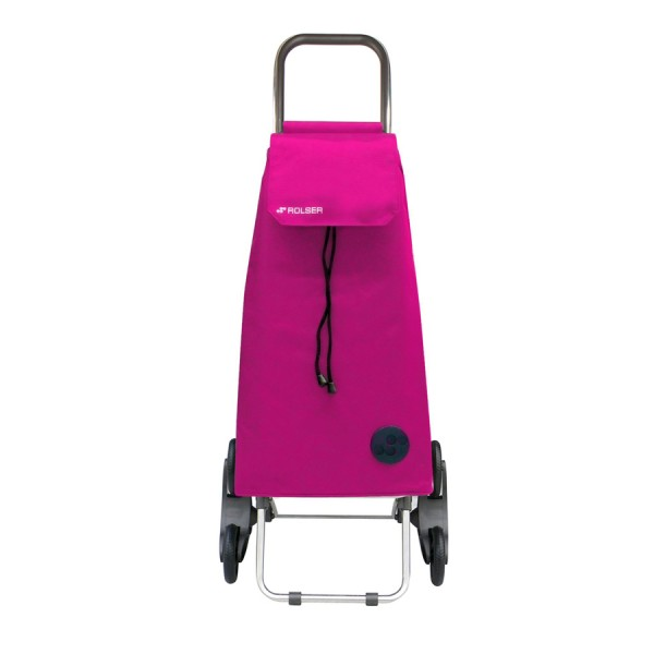Shopping trolley cart Mountain mf rd6 fuchsia 6 wheel