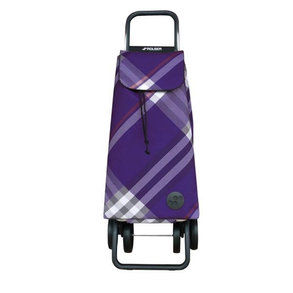 Shopping trolley cart Mountain mf rd6 purple dos+2 4 wheel