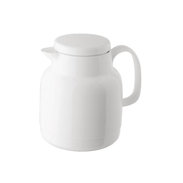 White thermo jug tea 1 l