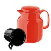 Red thermo jug tea 1 l