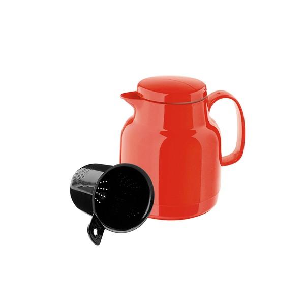 Red thermo jug tea 1 l