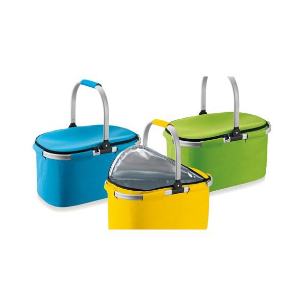 Folding thermal basket coolbag Tescoma