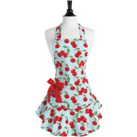 Kitchen cherry Josephine apron Jessie Steele