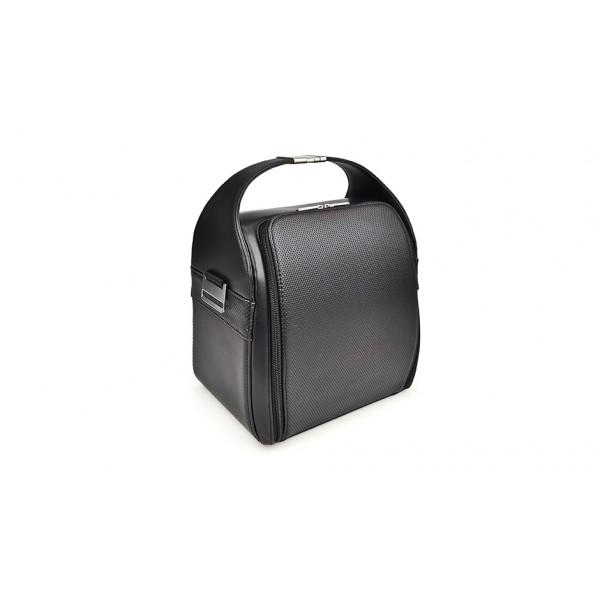 Bolsa isotérmica Lunchbag Dome negro + 3 contenedores