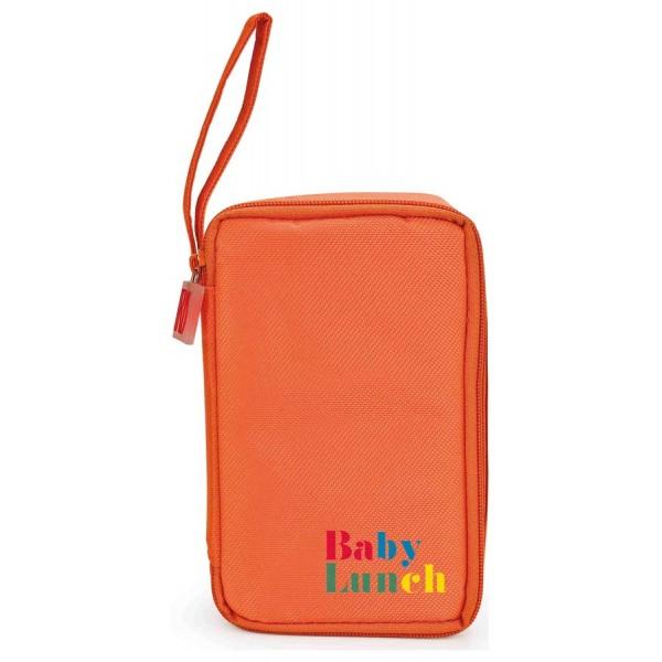 Orange Baby Lunch cool bag + tupperware 450ml