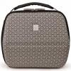 Black and Grey Lunchbag Eva In Tokyo cool bag