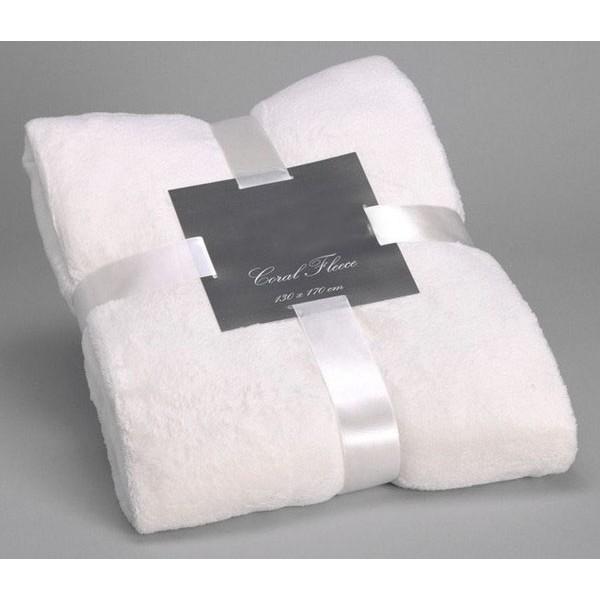 Blanket white 170x130 cm