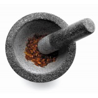 Granite mortar and pestles