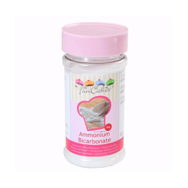 Bicarbonato de amonio Funcakes 80 gr