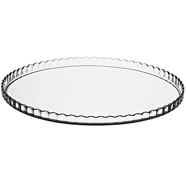 Plato vidrio para tartas Patisserie 32,2 cm