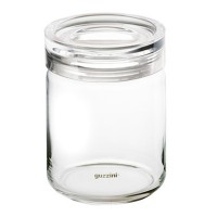 Glass storage jar Latina 1 Kg Guzzini