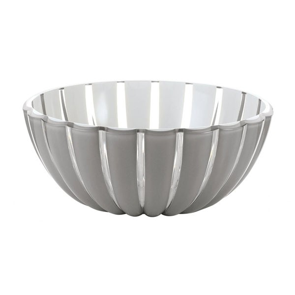 Grace grey salad bowl 20 cm Guzzini