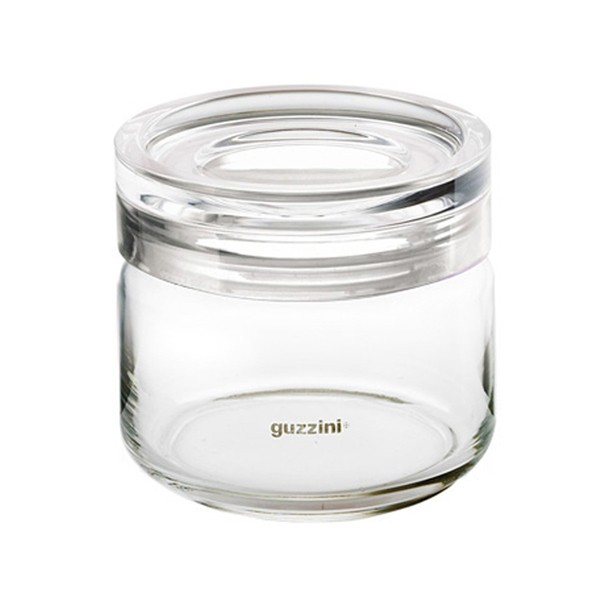 Glass storage jar Latina 0,50kg Guzzini
